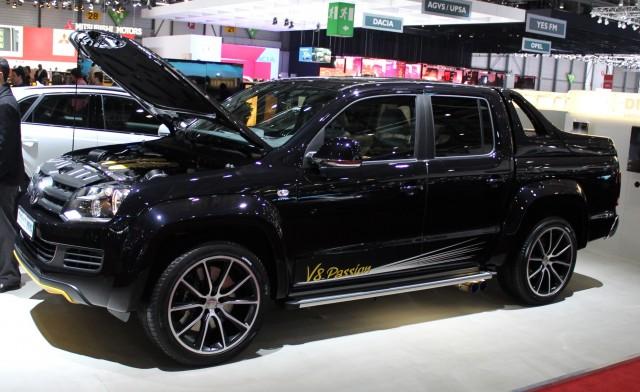 MTM Volkswagen Amarok V8 TDI - 2014 Geneva Auto Show