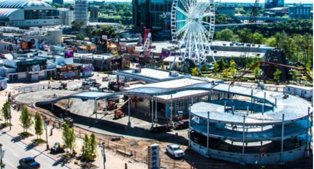 Multi-story go-kart track in Niagara Falls Photo: Clifton Hill Instagram