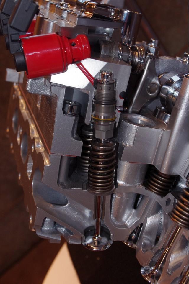 MultiAir's electo/hydraulic valve control
