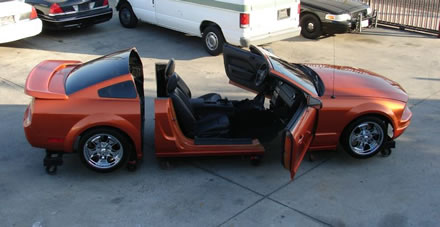 ebay one of a kind 2006 mustang cut away car page 2. Black Bedroom Furniture Sets. Home Design Ideas