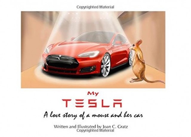 'My Tesla: A love story of a mouse and her car' by Joan C. Gratz