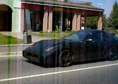 Mysterious Ferrari prototype in Maranello