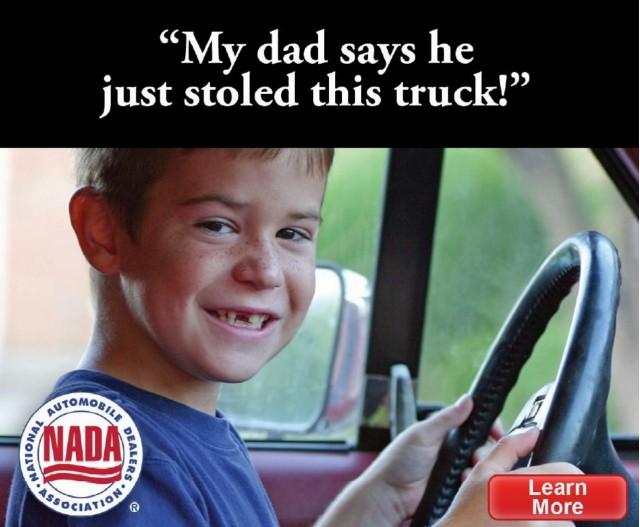 NADA 'Buy Now' ad campaign