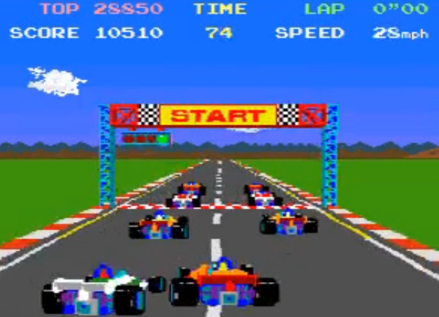 Namco's Pole Position video game
