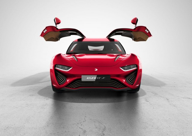 nanoFLOWCELL Quant F prototype, 2015 Geneva Motor Show