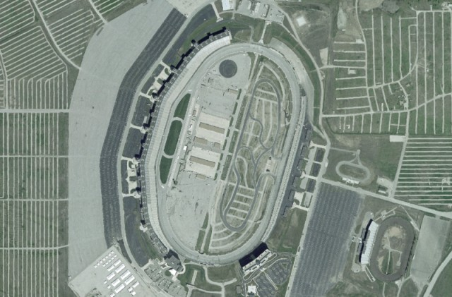 NASA image of the Texas Motor Speedway
