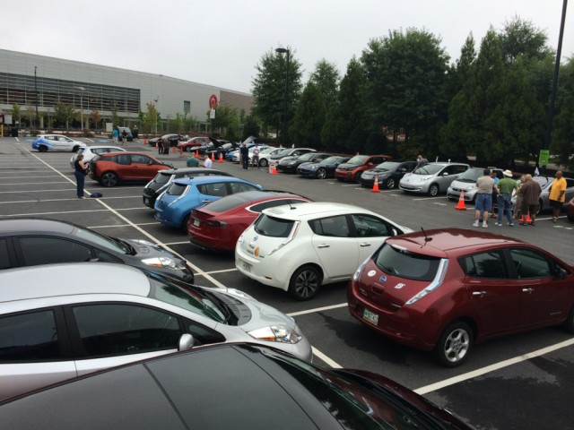 National Drive Electric Week 2014: Atlanta. Photo by Michael Beinenson.