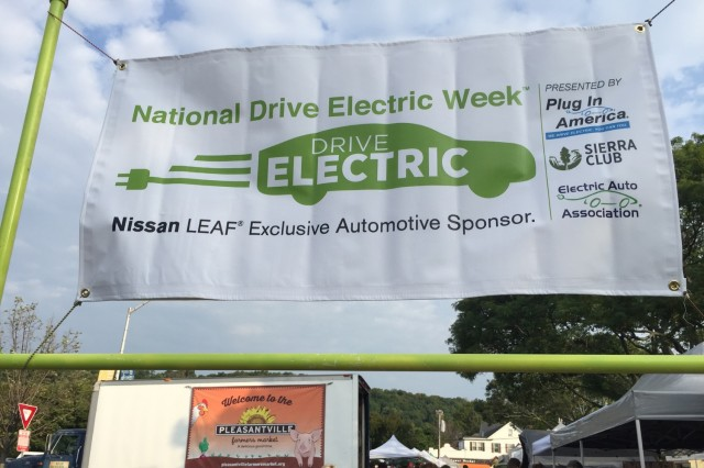 National Drive Electric Week 2016: Pleasantville, NY [photo: Mary Ellen Acosta]