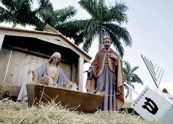 Nativity with GPS