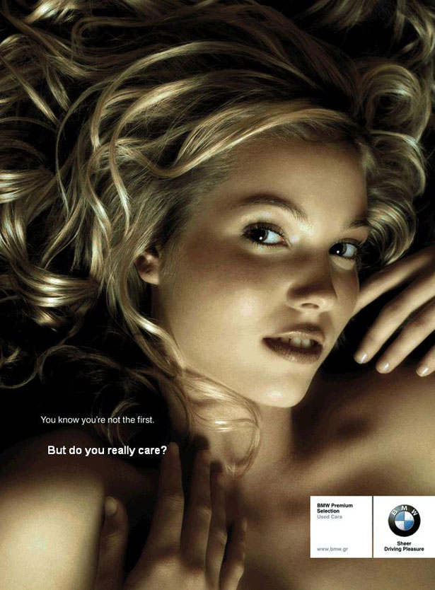 Naughty BMW Ad