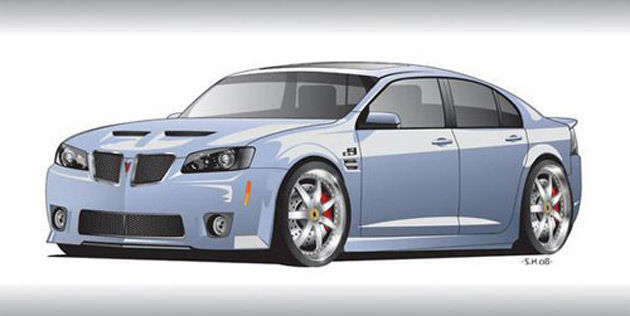 Cst G8 Will Feature A Vortech Supercharger Kit And Custom Paint Job