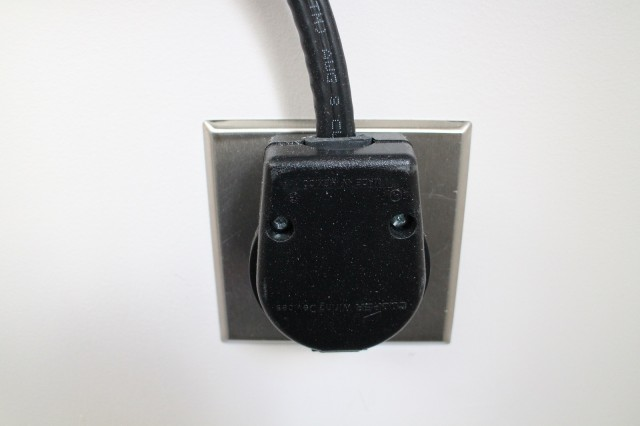 NEMA 6-50 plug in socket