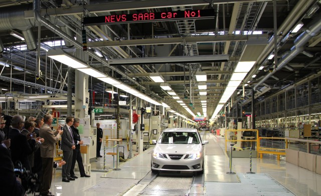 NEVS starts production of 2014 Saab 9-3