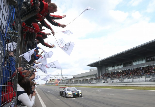 New Audi R8 LMS race car wins 2015 ADAC Zurich Nürburgring 24 Hours