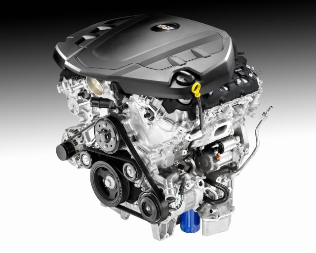 New Cadillac 3.6-liter V-6