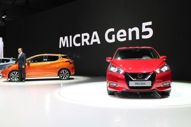New Nissan Micra Debuts In Paris Not For Us But Canada Perhaps