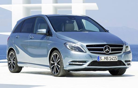 New Mercedes Benz B Class Exterior