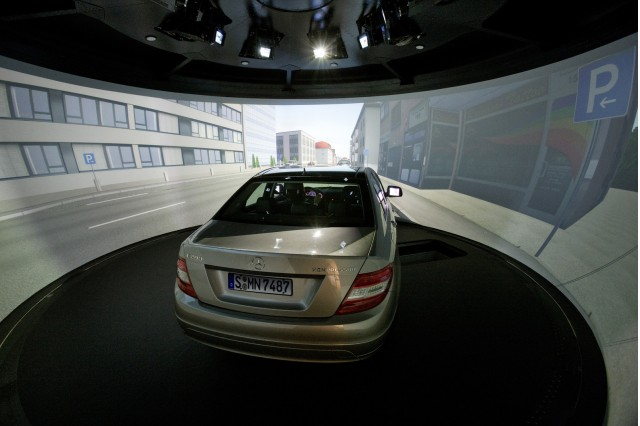 New Mercedes-Benz research facility and driving simulator