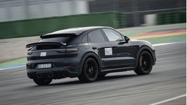 New Porsche Cayenne Coupe variant