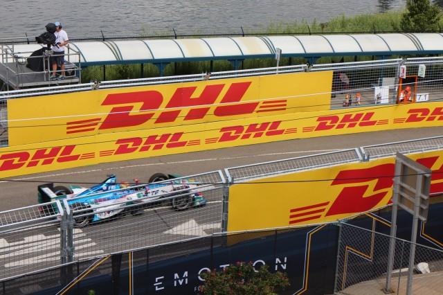 New York City ePrix FIA Formula E electric-car race, Red Hook, Brooklyn, July 2017