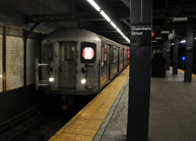 New York City subway. Photo by Flickr user James Willamor.