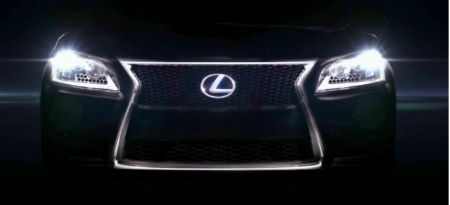 Next-gen Lexus LS teased in official video?