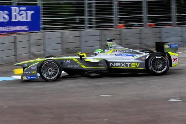NextEV Formula E race car