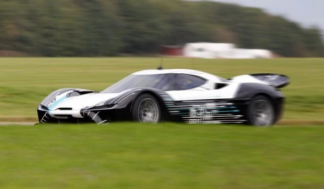 NextEV supercar - Image via Autohome