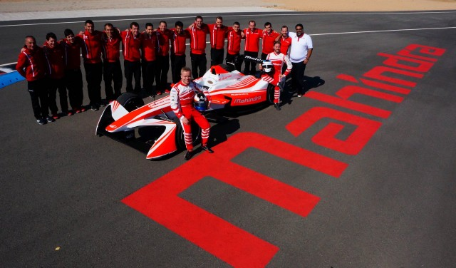 Nick Heidfeld with Mahindra Racing M4Electro