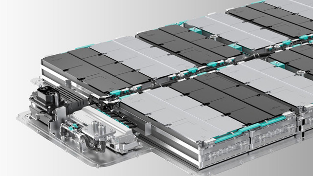 Nio 100-kwh battery pack