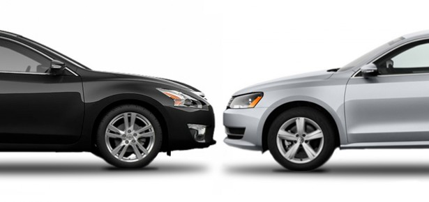 Nissan Altima Vs. Volkswagen Passat