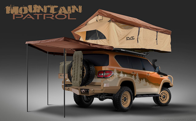 Custom Nissan Armada Mountain Patrol wants to be the best overlanding SUV