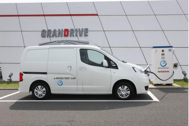 Nissan e-NV200 electric van prototype, Oppama, Japan, Oct 2012
