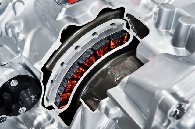 Nissan front-wheel-drive mild hybrid system