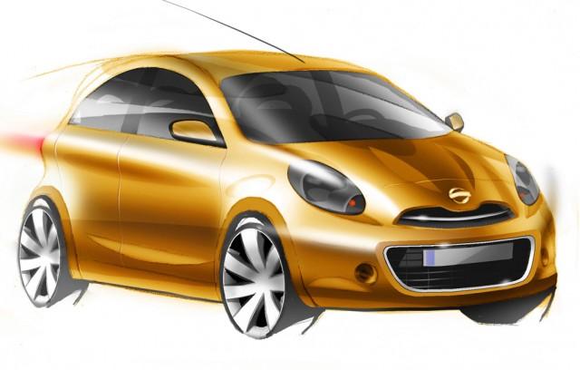 Nissan global minicar preview sketch