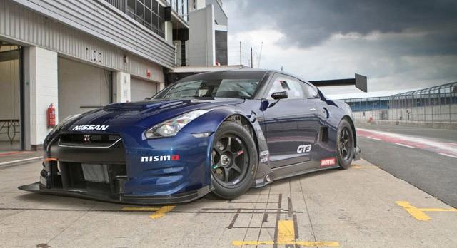 Nissan Gt R Gt3 Race Car