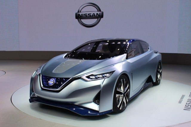 Nissan IDS concept, 2015 Tokyo Motor Show