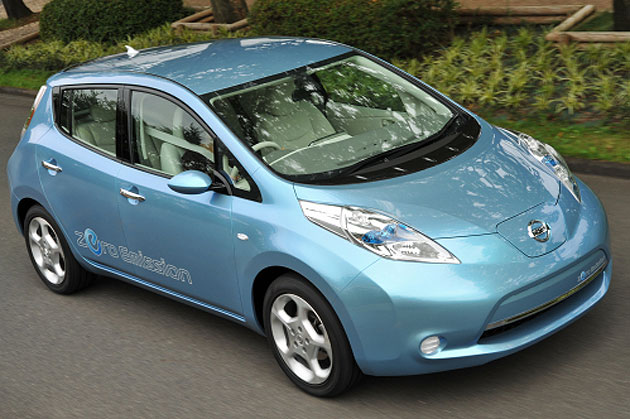 The LEAF will go on sale in the U.S., Europe and Japan late next year