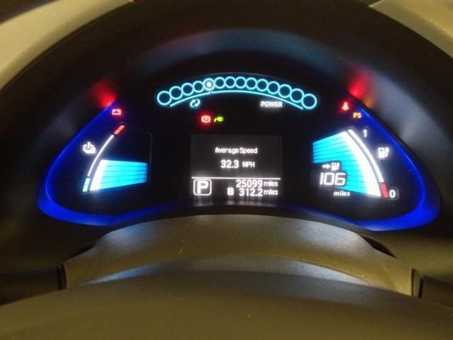 Nissan Leaf hits 25,000 miles
