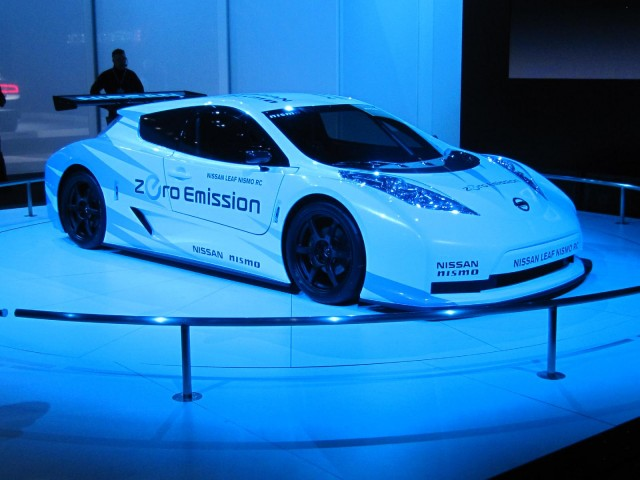 2012 Nissan Leaf Nismo RC Concept, New York Auto Show, April 2011