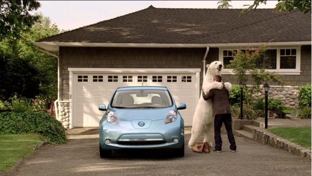 2011 Nissan Leaf Ad Campaign (screenshot)
