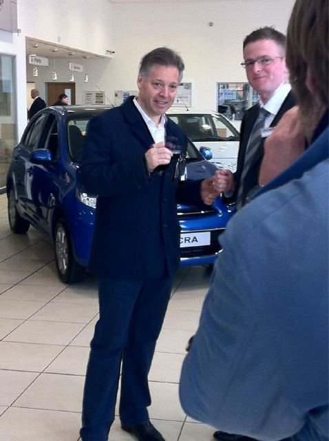 2011 Nissan Leaf UK Launch
