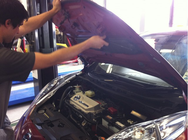We find out what happens when our 2011 Nissan Leaf undergoes an essential software update.
