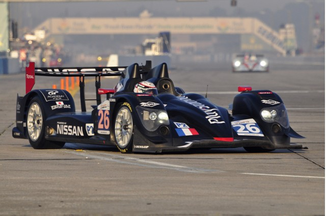 Nissan LM P2 racer at Sebring - Anne Proffit photo