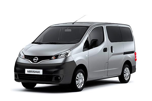 Nissan NV200 7-Penger Van For Geneva Debut