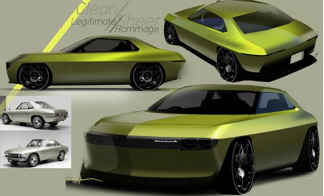 Nissan Silvia EV concept