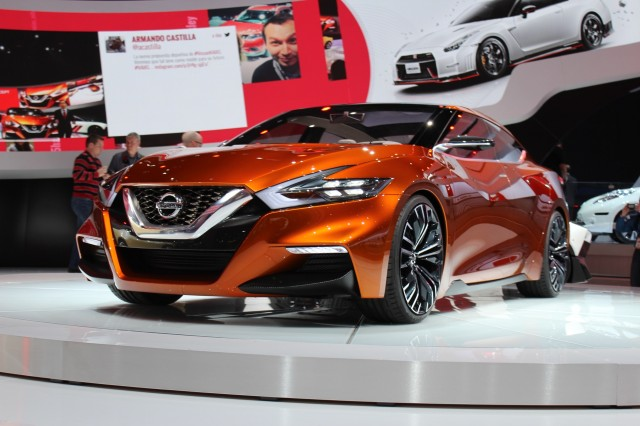 Nissan Sport Sedan Concept - 2014 Detroit Auto Show live photos
