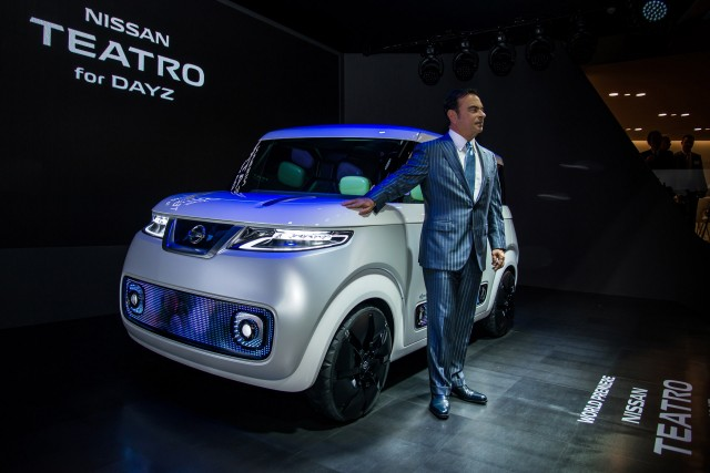 Nissan Teatro for Dayz concept, 2015 Tokyo Motor Show