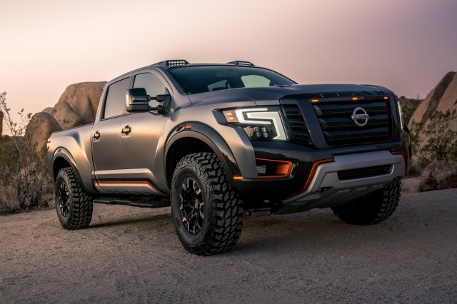 Nissan Titan Warrior >> Nismo mulls high-performance pickup for US