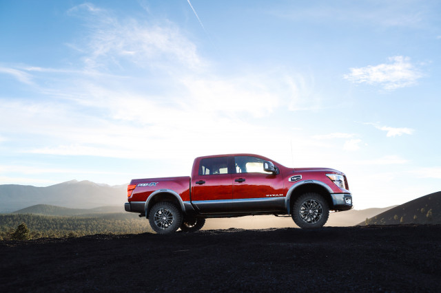 Nissan Titan factory lift kit